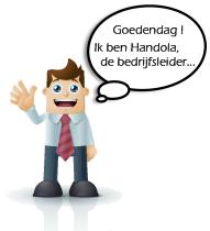 Handola de Bedrijfsleider